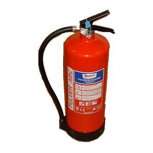 Fyllning av Brandsläckare Pulver 12Kg